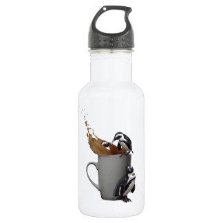 Penguin tea break water bottle
