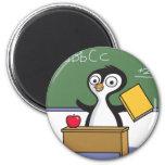 Penguin Teacher Refrigerator Magnets
