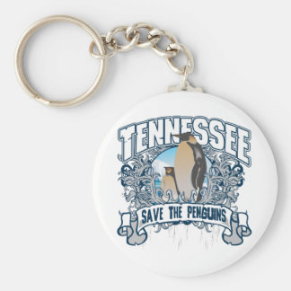 Penguin Tennessee Keychain