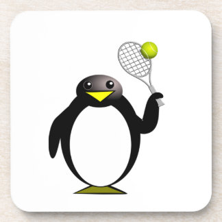 Penguin Tennis Coaster