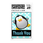 PENGUIN THANK YOU CARD STAMPS