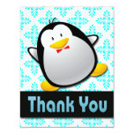 PENGUIN THANK YOU NOTE CARDS ANNOUNCEMENT