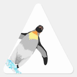 Penguin Triangle Sticker