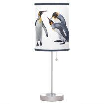 Penguin Trio Lamp (Choose Your Colour)