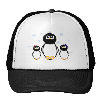 Penguin Trio Trucker Hat