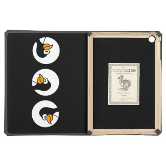 Penguin turns in circles iPad air cover