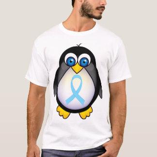 Penguin Turquoise Ribbon Gift T-Shirt