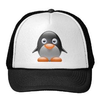penguin tux linux image trucker hats