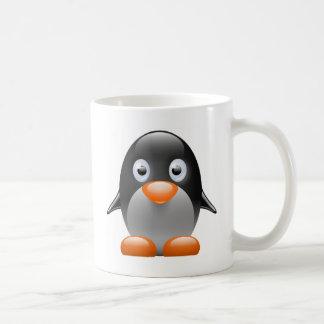 penguin tux linux image mug