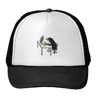 penguin tux system administrator hats