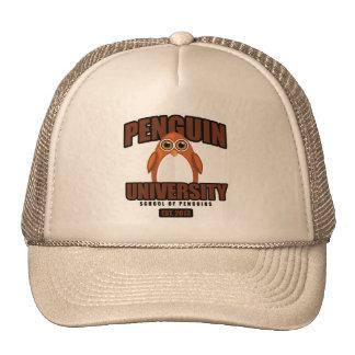 Penguin University - Brown Trucker Hat