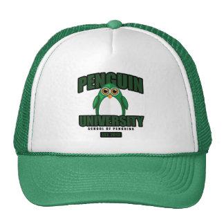 Penguin University - Green Trucker Hat