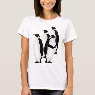 Penguin Using A Cellphone T-Shirt