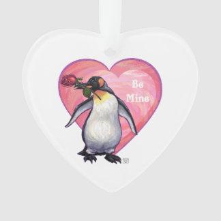 Penguin Valentine's Day Ornament
