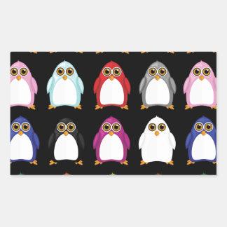 Penguin Variety (2) Rectangular Sticker