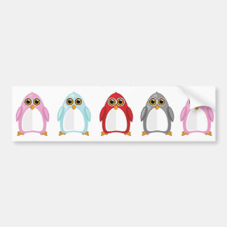 Penguin Variety Bumper Stickers