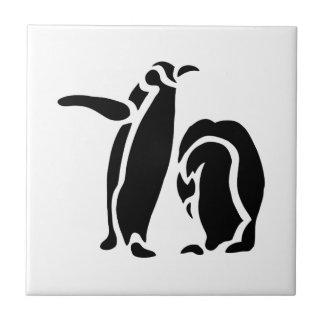 Penguin Vintage Wood Engraving Tile