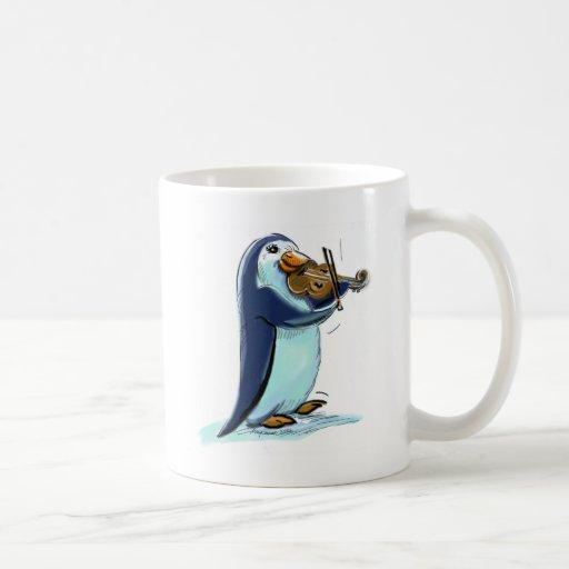PeNgUiN ViOLiniSt Coffee Mug