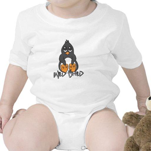 Penguin WC Baby Bodysuit