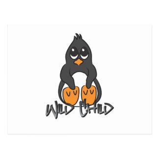 Penguin WC Postcard