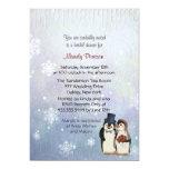 Penguin Wedding Bridal Shower Card