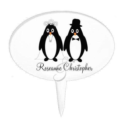 How To Make Penguin Wedding Cake Topper