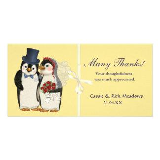 Penguin Wedding Card