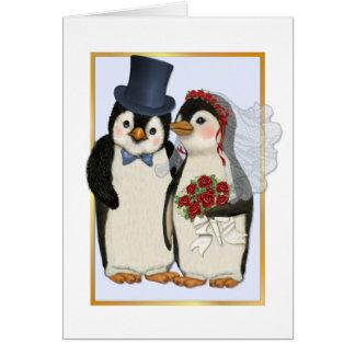 Penguin Wedding- No Text Card