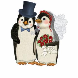 Penguin Wedding Acrylic Cut Outs