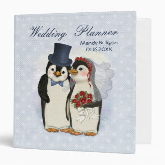 Penguin Wedding Planner 3 Ring Binder