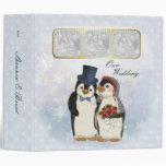 Penguin Wedding Planner Album 3 Ring Binder