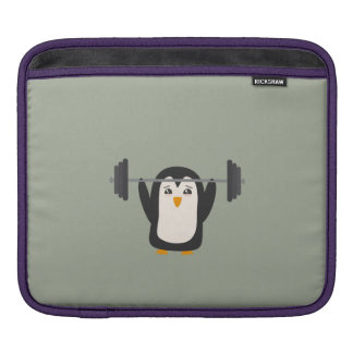 Penguin Weightlifting Sleeve For iPads
