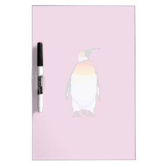 Penguin Wine Dry Erase Board