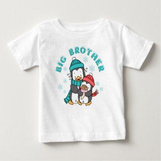 Penguin Winter Big Brother Baby T-Shirt