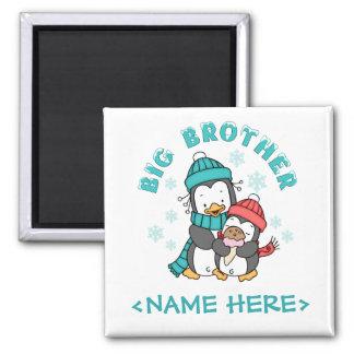 Penguin Winter Big Brother Magnet