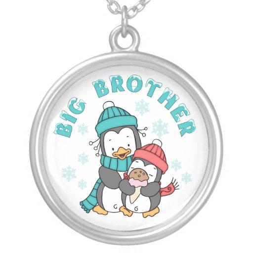 Penguin Winter Big Brother Pendants