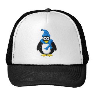 Penguin Winter Design Trucker Hat