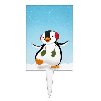 Penguin Winter Illustration - Cakepick