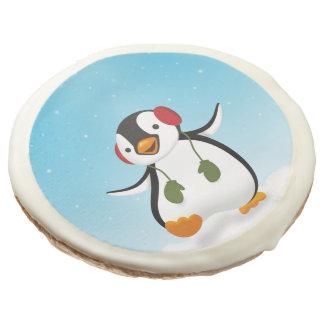 Penguin Winter Illustration - Cookie