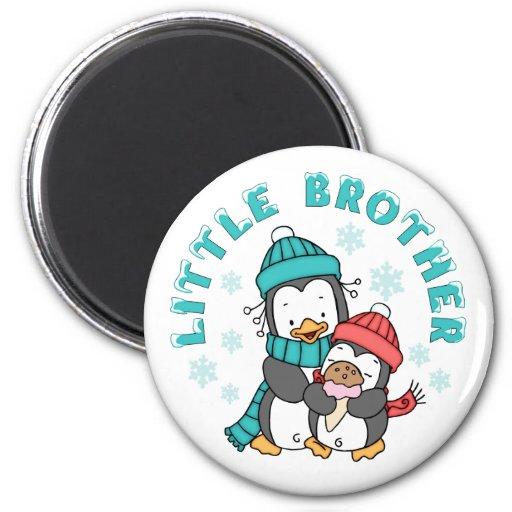 Penguin Winter Little Brother Magnet