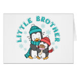 Penguin Winter Little Brother Stationery Note Card
