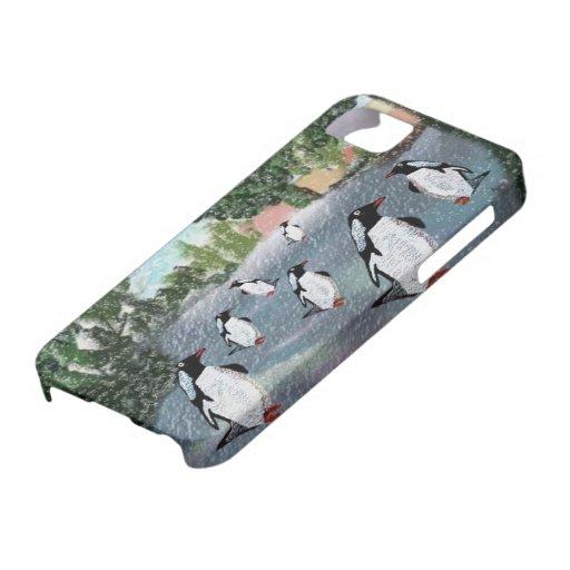 Penguin Winter Snow IPhone 5 Case