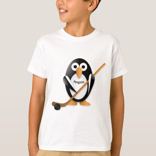 Penguin with a hockey stick T-Shirt