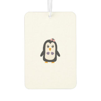 Penguin with bikini air freshener