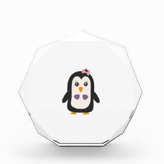 Penguin with bikini award