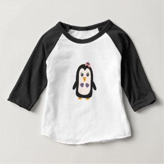 Penguin with bikini baby T-Shirt