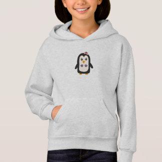 Penguin with bikini hoodie
