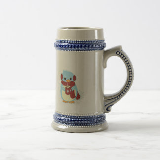 Penguin with Cocoa Beer Stein