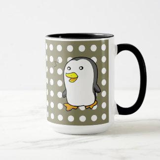 Penguin with Flower Bouquet Mug