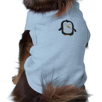 Penguin with sushi shirt